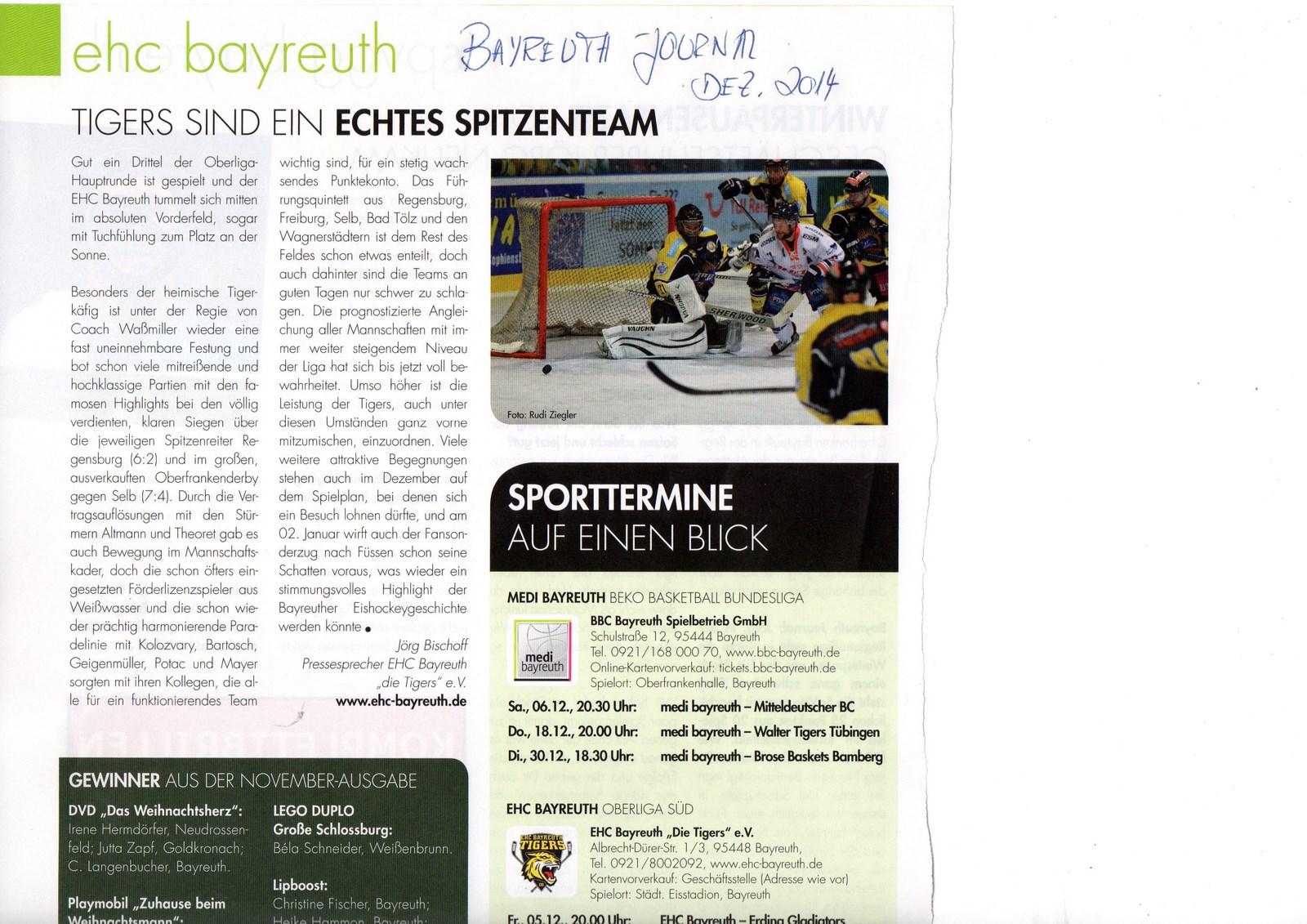 Bayreuth Journal 2014-12 [1600x1200]