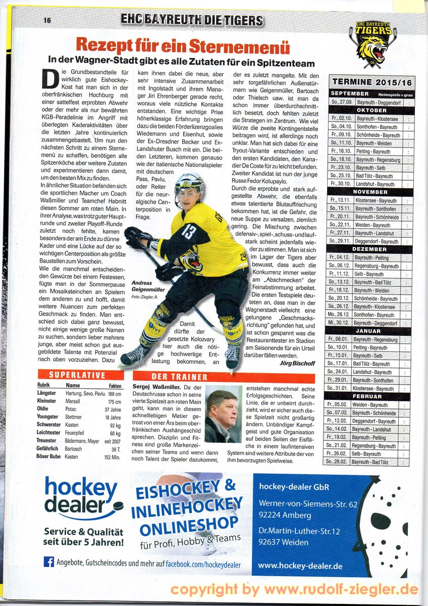 Êishockey NEWS - Sonderheft - OBERLIGA SÜD 15-16 (2) [1600x1200]