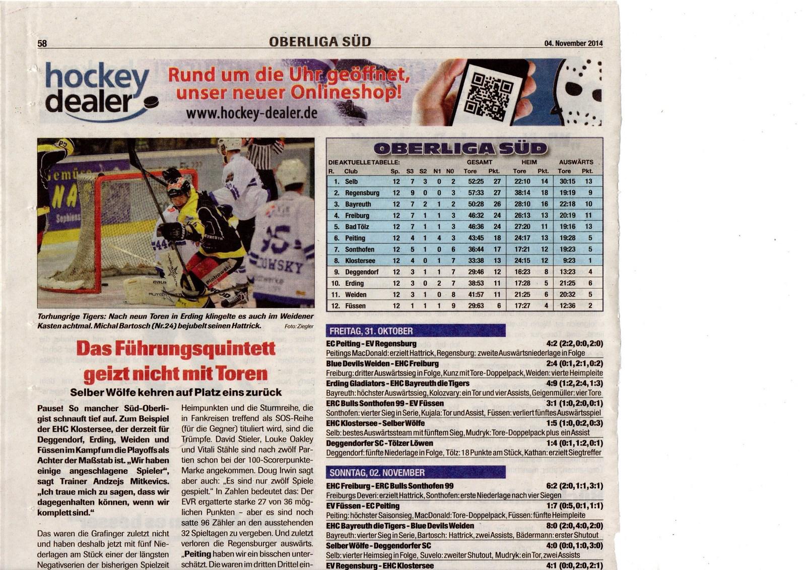 Eishockey NEWS 2014-11-04 [1600x1200]