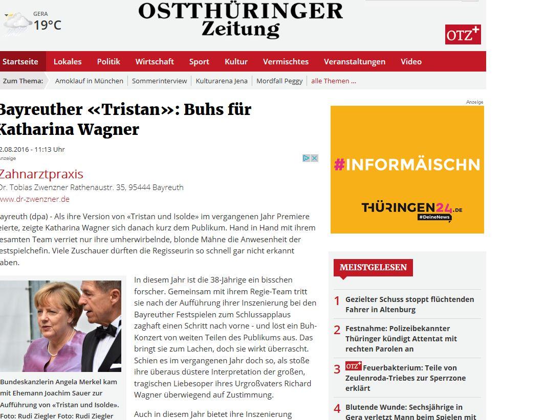 OTZ - Angela Merkel