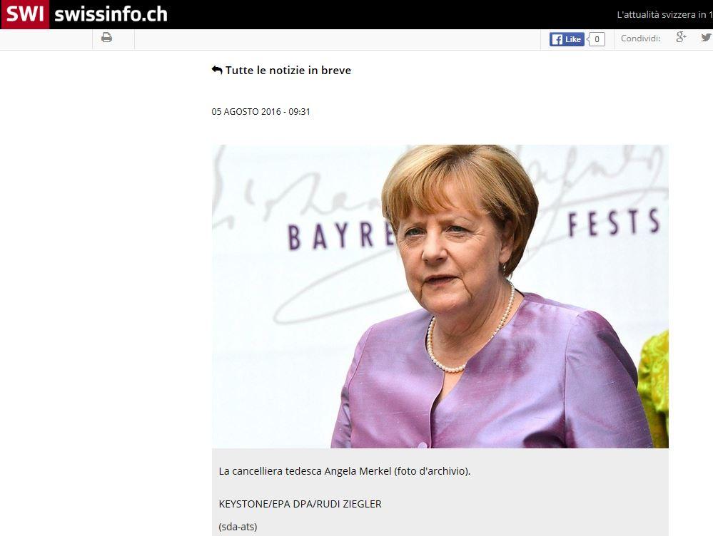 SWI - Angela Merkel