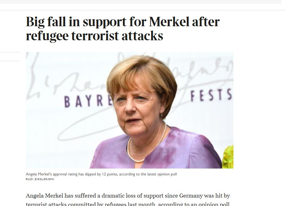 THE TIMES - Angela Merkel