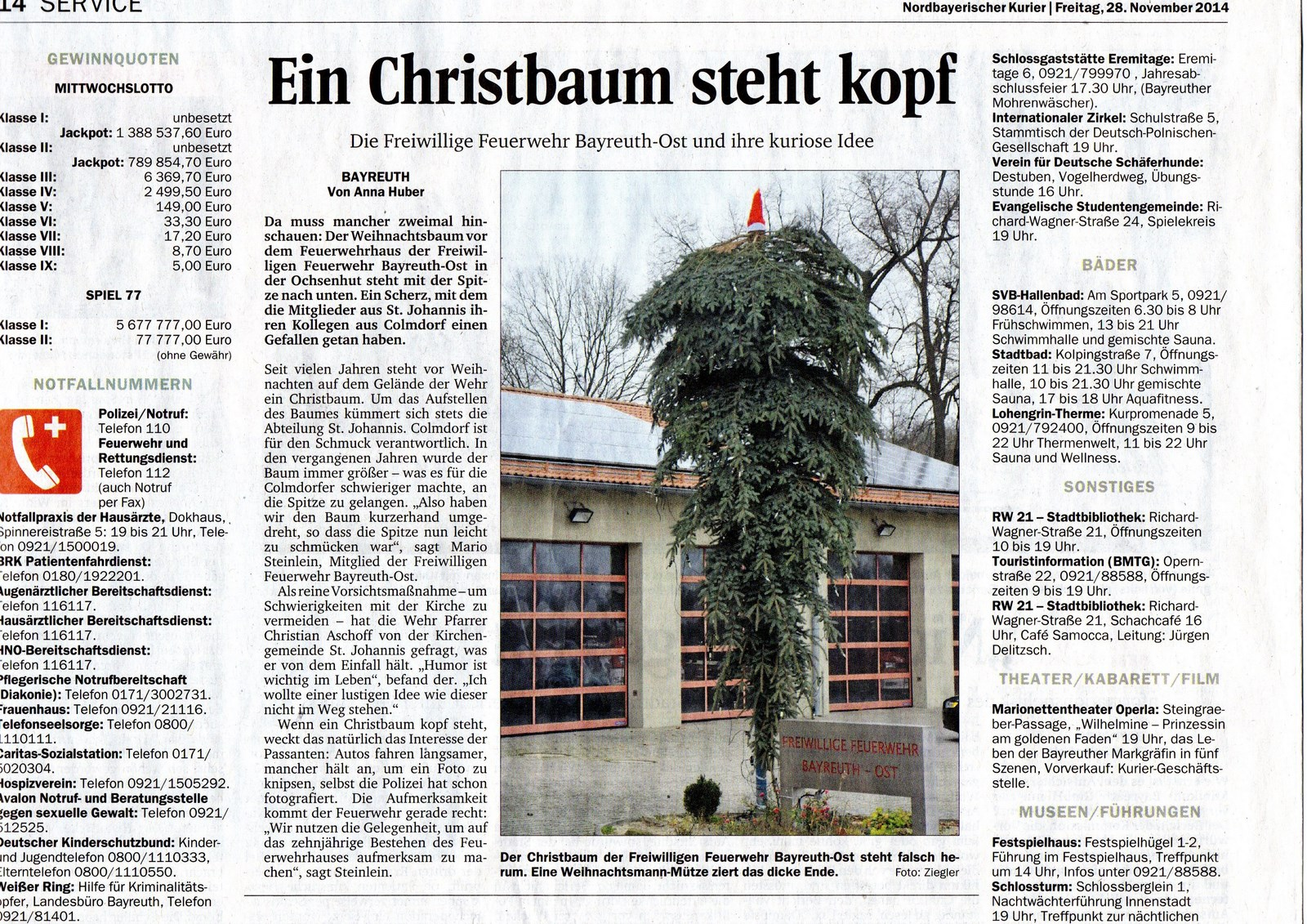 Nordbayerischer Kurier 2014-11-28 [1600x1200]