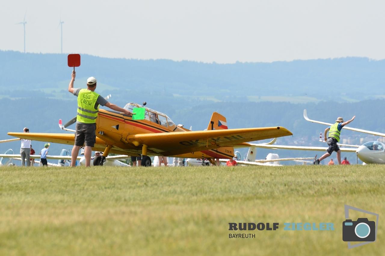 Segelfliegen - Sonntag 101-RZL
