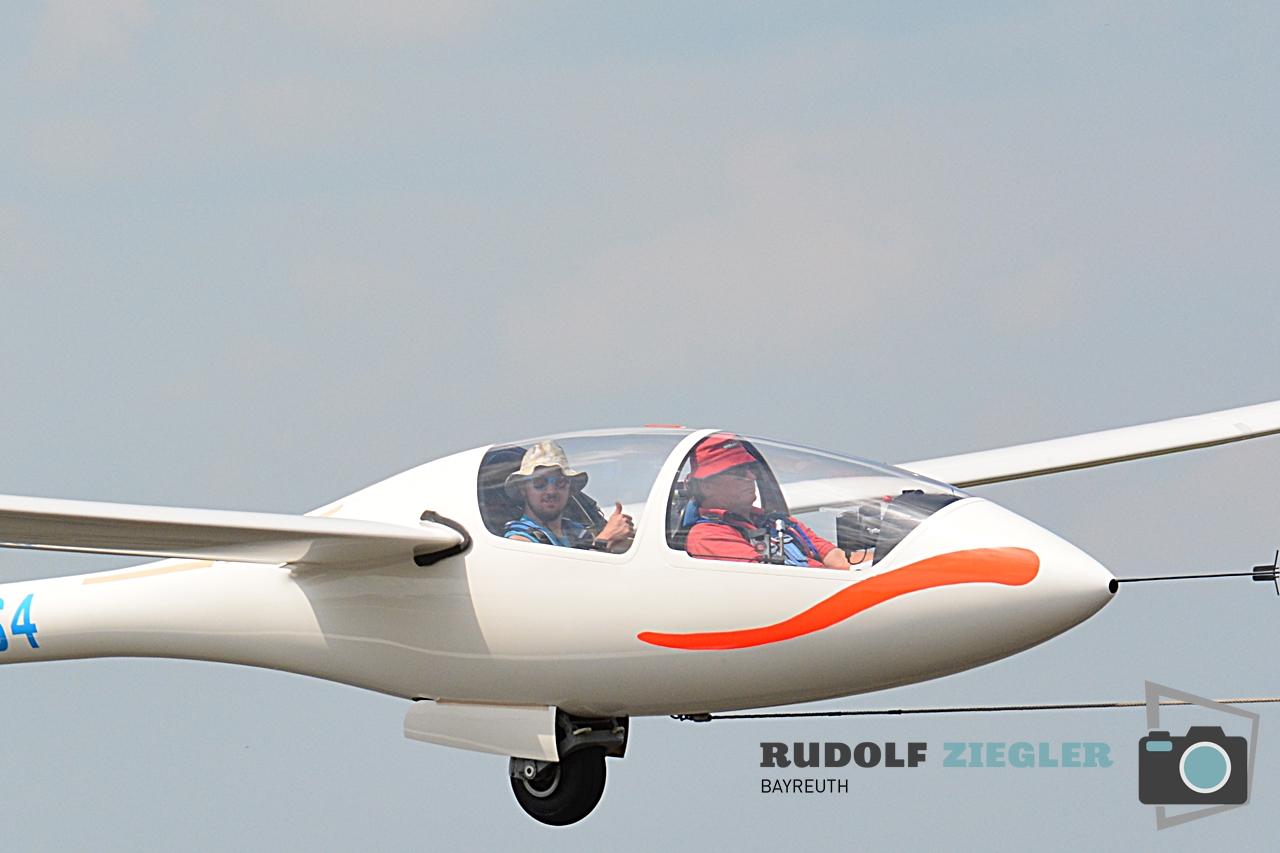 Segelfliegen - Sonntag 182-RZ