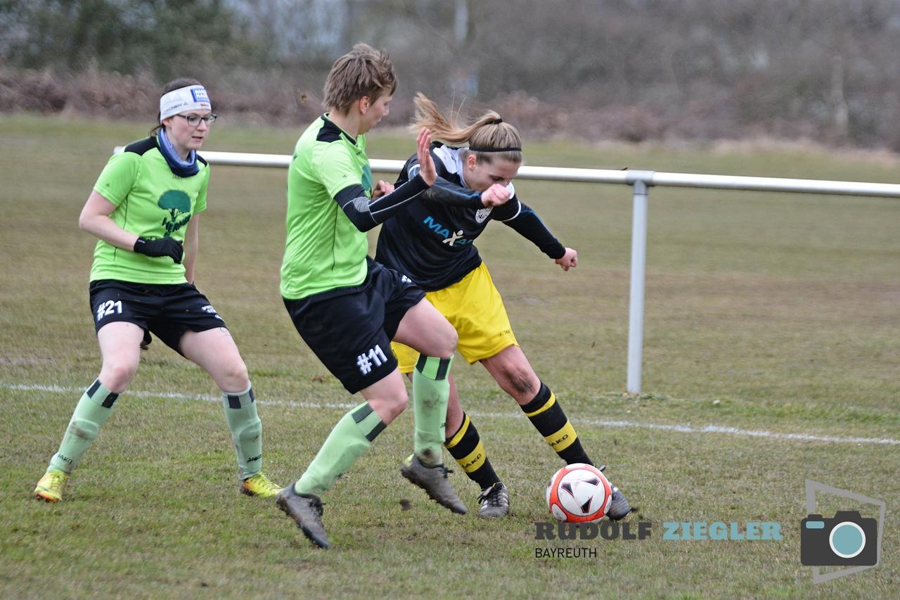 SpVgg Bayreuth Frauen vs. VfR Stadt Bischofsheim 109-RZL