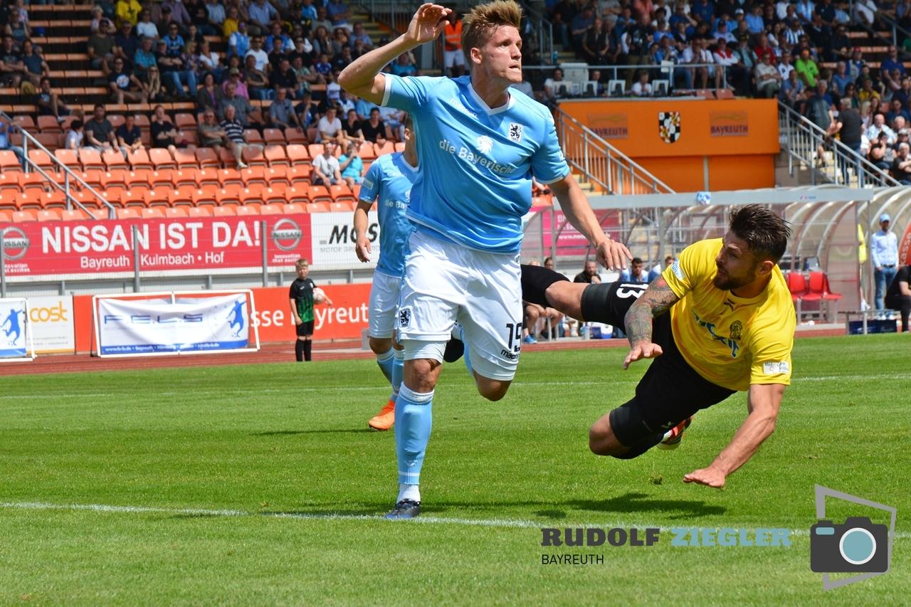 SpVgg Bayreuth vs. TSV 1860 München 053-RZL