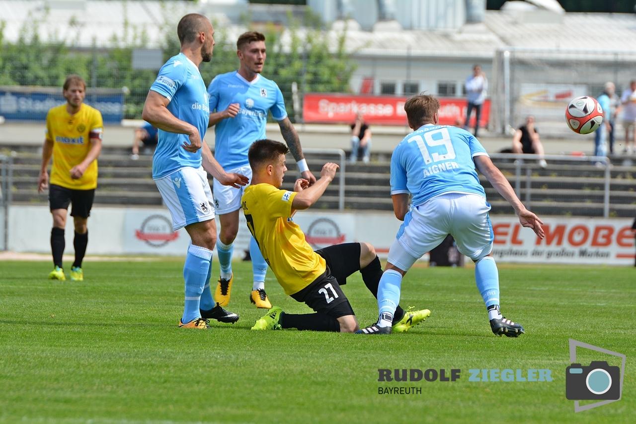 SpVgg Bayreuth vs. TSV 1860 München 059-RZL