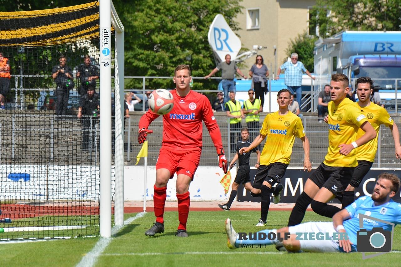 SpVgg Bayreuth vs. TSV 1860 München 106-RZL