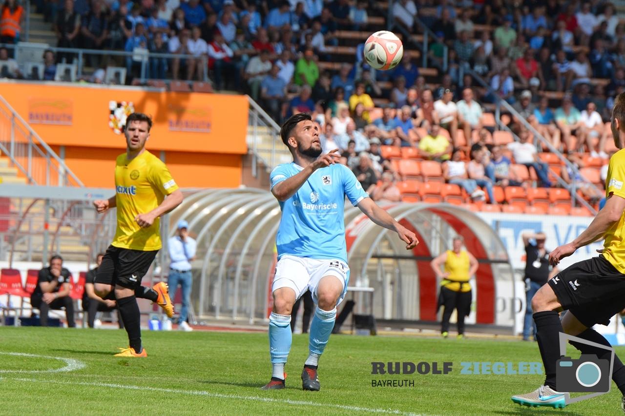 SpVgg Bayreuth vs. TSV 1860 München 116-RZL