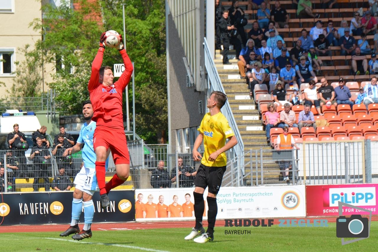 SpVgg Bayreuth vs. TSV 1860 München 141-RZL