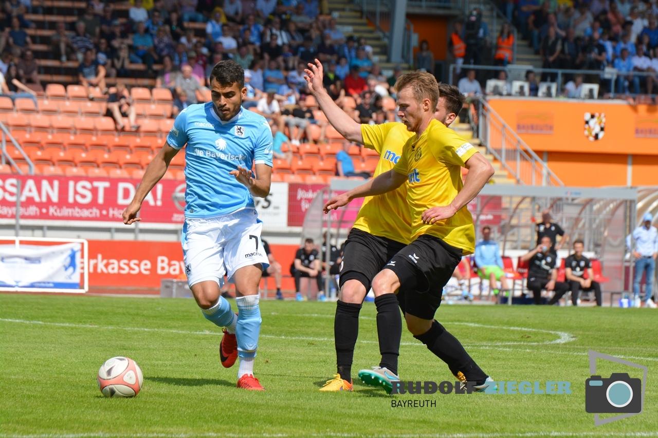 SpVgg Bayreuth vs. TSV 1860 München 156-RZL