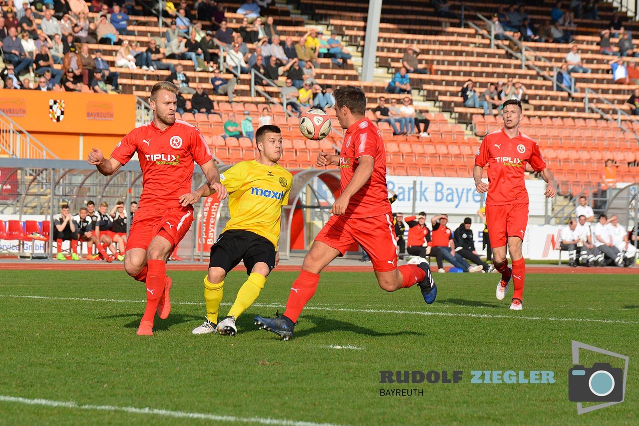 Toto-Pokal - SpVgg Bayreuth vs. TSV 1860 Rosenheim 025-RZL