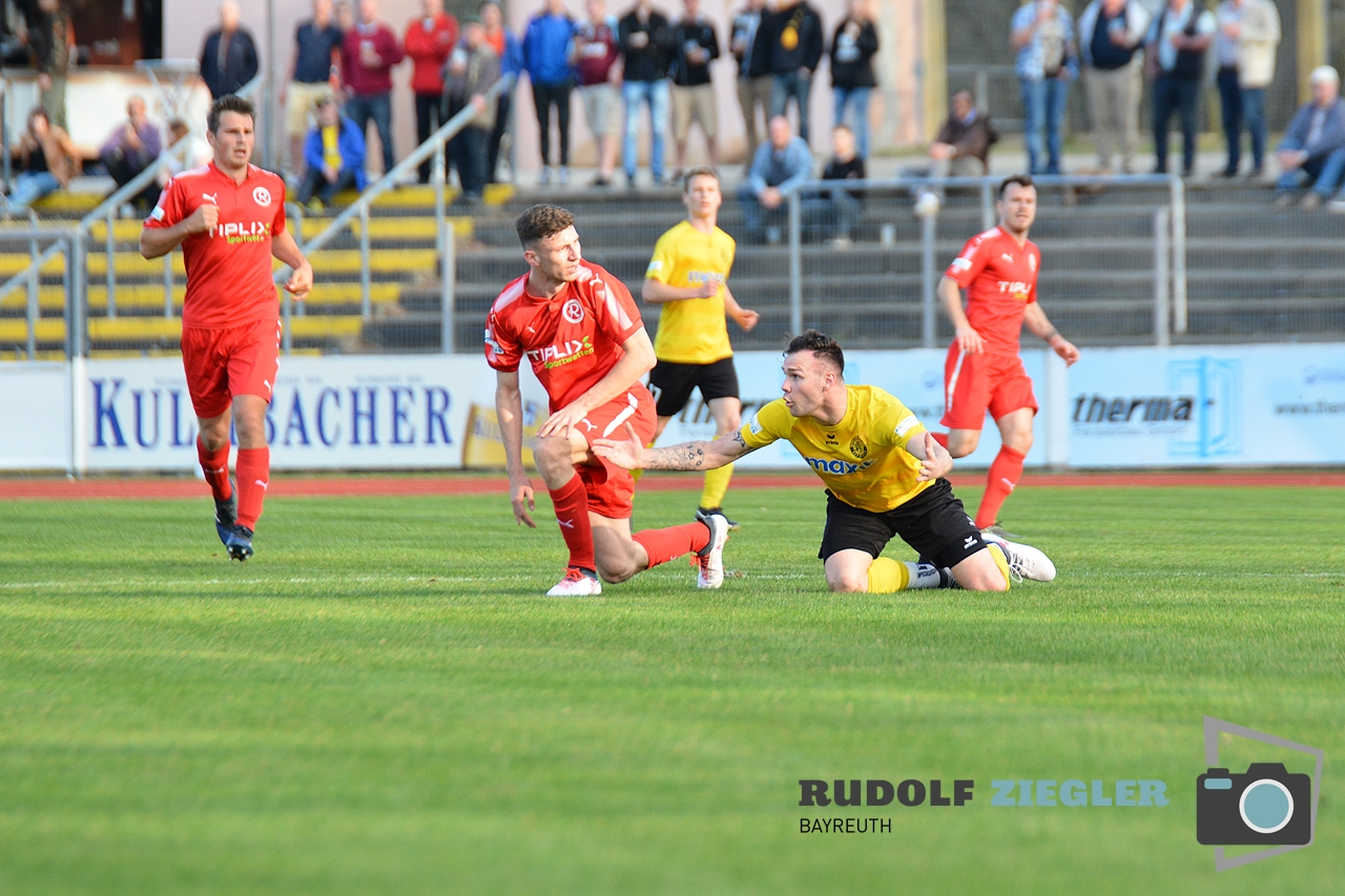 Toto-Pokal - SpVgg Bayreuth vs. TSV 1860 Rosenheim 033-RZL