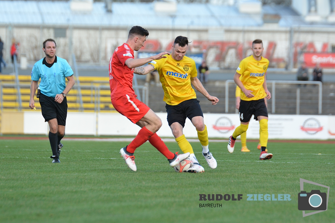Toto-Pokal - SpVgg Bayreuth vs. TSV 1860 Rosenheim 042-RZL