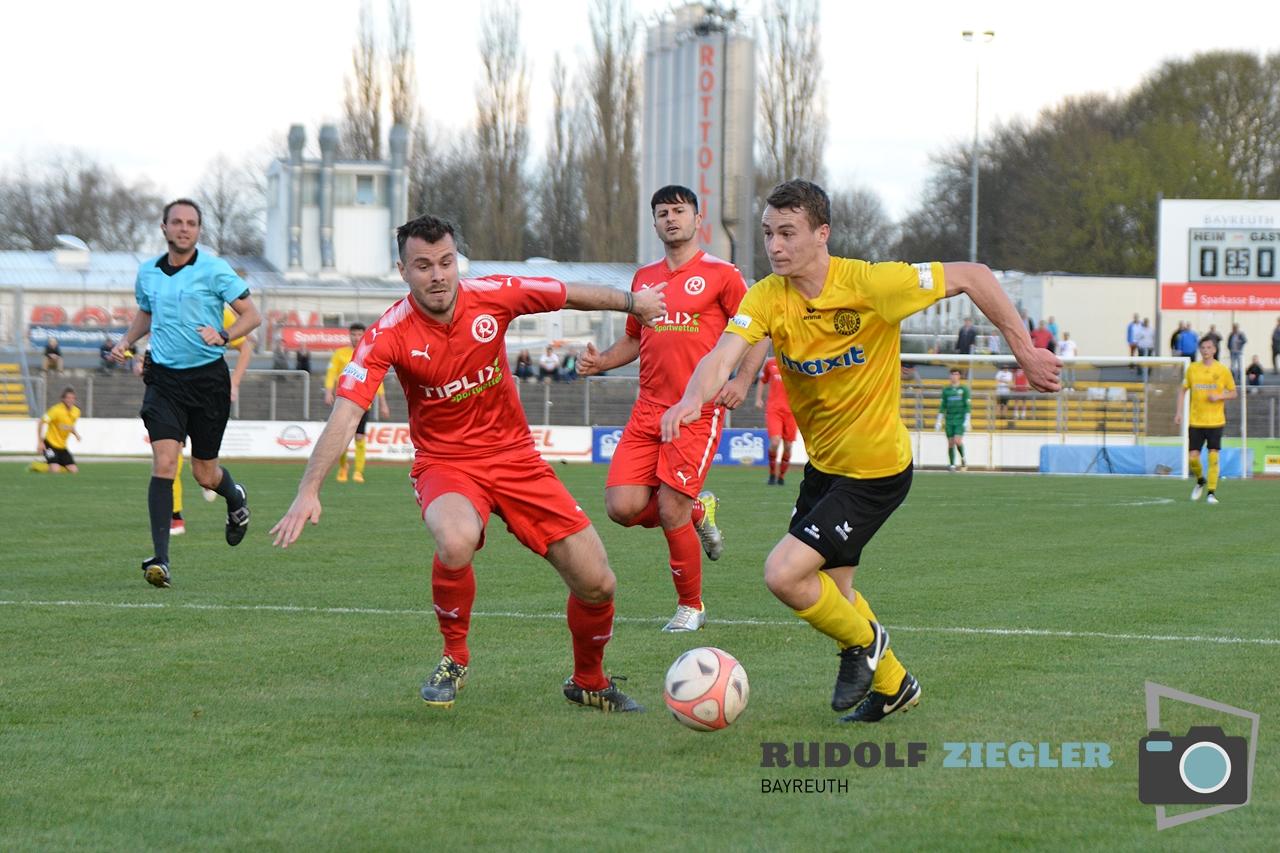 Toto-Pokal - SpVgg Bayreuth vs. TSV 1860 Rosenheim 057-RZL