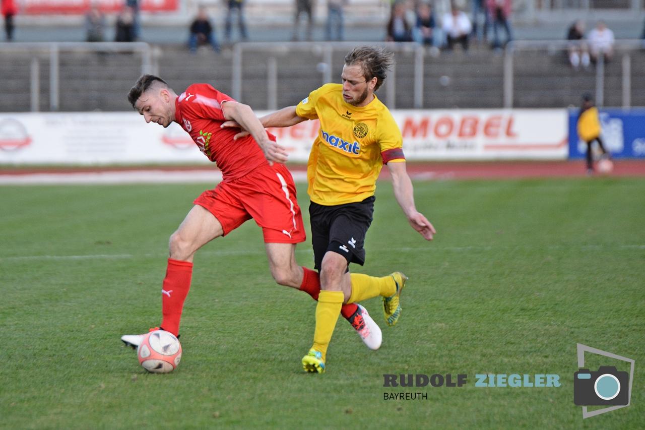Toto-Pokal - SpVgg Bayreuth vs. TSV 1860 Rosenheim 110-RZL