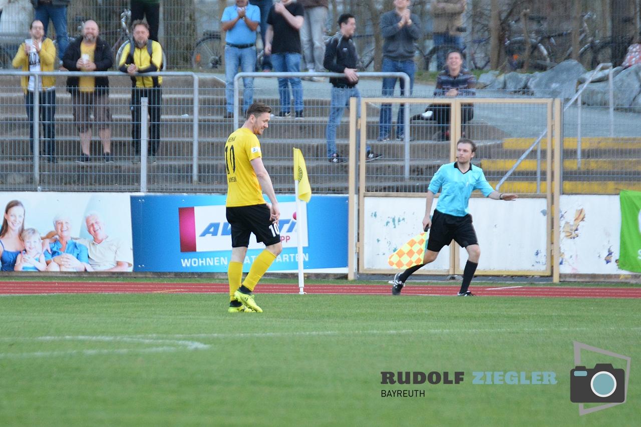 Toto-Pokal - SpVgg Bayreuth vs. TSV 1860 Rosenheim 129-RZL