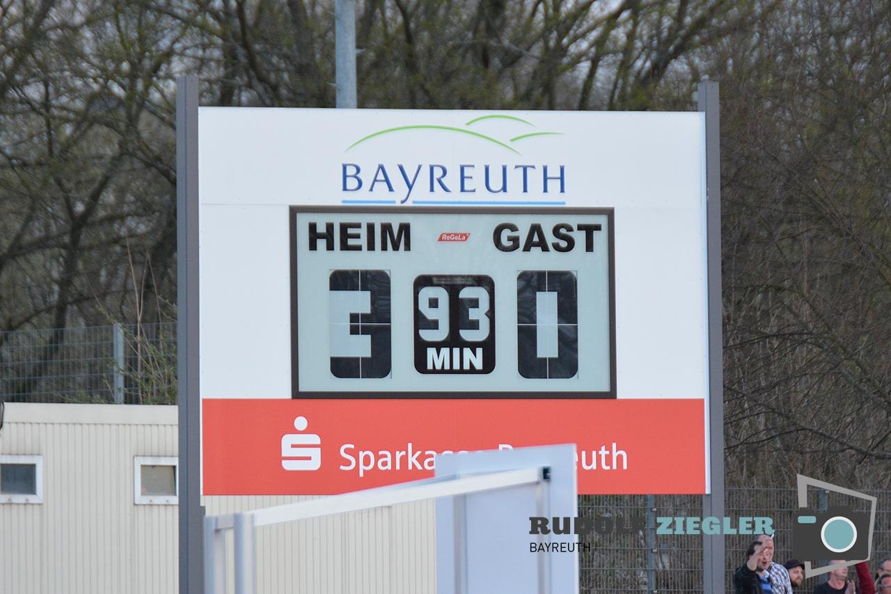 Toto-Pokal - SpVgg Bayreuth vs. TSV 1860 Rosenheim 133-RZL